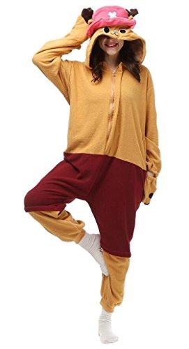 Cosplay Animal Pajamas kigurumi Sleepwear Adult Unisex Onesies Halloween Costume (L, Chopper) (Chopper Wear compare prices)