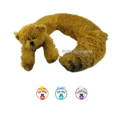 Aroma Bear Collar Wrap - Aromatherapy Stuffed Animal - Hot And Cold Therapy
