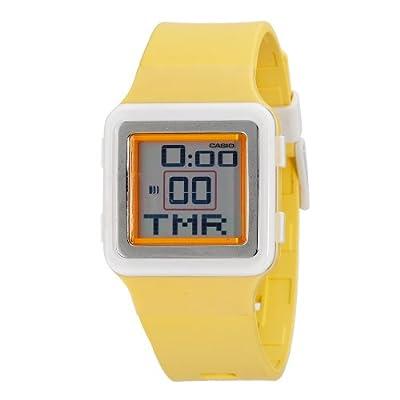 Casio Women's LDF20-9AV Digital Yellow Resin Strap Watch | Amazon.com
