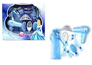 Disney Cindrella Hair Care Set, Blue