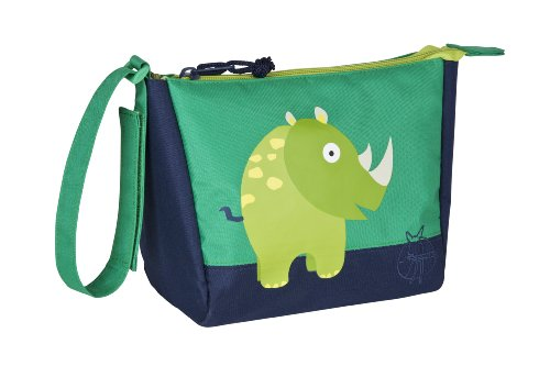 Lassig  Mini Wash/Toiletry Travel Bag, Wildlife Rhino