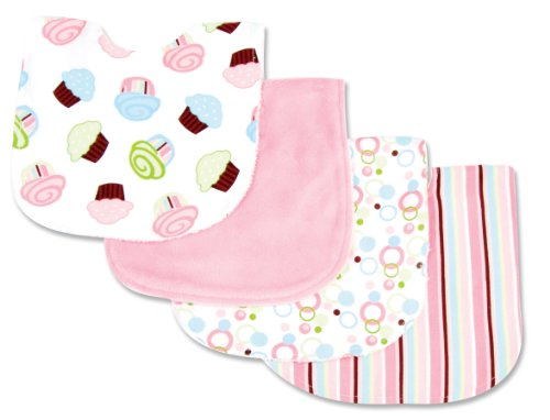 Pink And Teal Baby Bedding 3734 front
