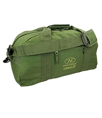 Pro-Force 30 L Military Cargo Holdall Green One Size