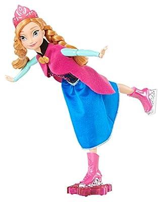 Disney Frozen Ice Skating Anna Doll from Mattel