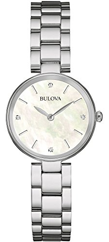 bulova-womens-quartz-watch-with-mother-of-pearl-dial-analogue-display-and-silver-stainless-steel-bra