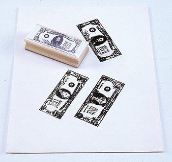 "Center Enterprise CE790 ""$1,$5,$10 BILLS KIT"" Stamp"