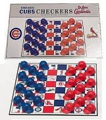 MLB Checker Set MLB Team: Chicago Cubs at Amazon.com