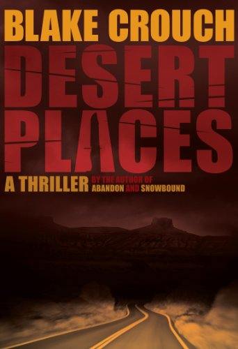 Desert Places: A Novel of Terror cover