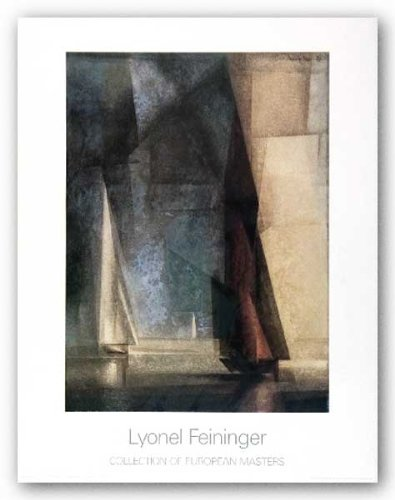 Stiller Tag am Meer Ill 1929 by Lyonel Feininger 27.5