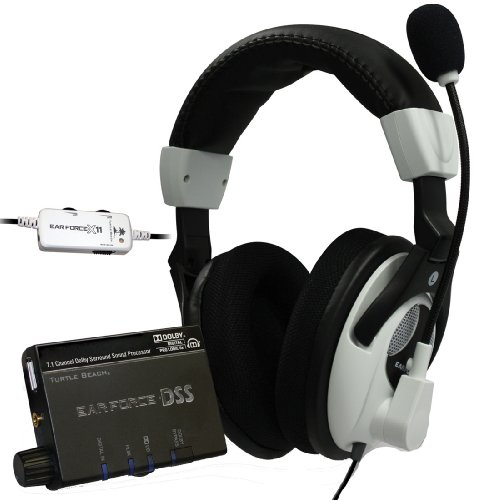 Turtle Beach Ear Force DX11 Headset Bundle with 7.1 Dolby Surround Sound (Xbox 360)