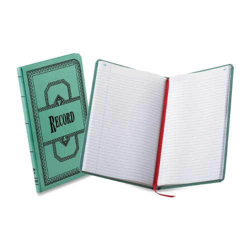 Boorum & Pease Record/Account 12 1/8 x 7 5/8 Inch 300-Page Record Rule Book (66300R)