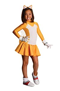Sonic The Hedgehog Female Tails Costume, Large