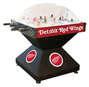 Detroit Red Wings Dome Bubble Hockey by Holland Bar Stool
