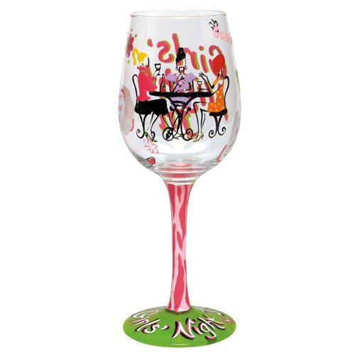 Lolita Acrylic Wine Drinkware, Girl's Night In