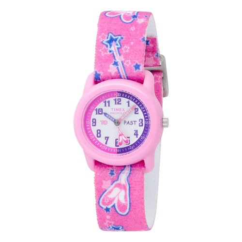 Timex Kids' T7B151 Time Teacher Pink Ballerina