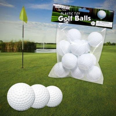 US Toy Plastic Golf Balls Game (1 Dozen) - 1