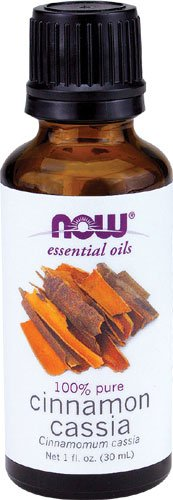 NOW Foods Cinnamon Cassia Oil, 1 ounce (Pack
