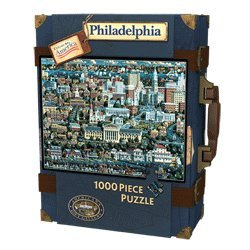 Philadelphia, Pennsylvania 1000 Piece Jigsaw Puzzle