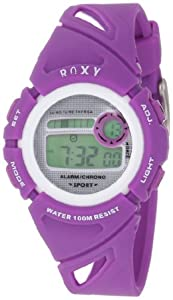 Roxy Kids' RWDGD001-PUR Alarm Chronograph Digital Watch