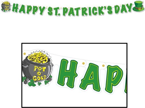 все цены на Happy St Patrick'S Day Streamer (108 Pieces) онлайн