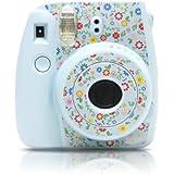 Garden Camera Sticker for Fujifilm Instax mini 8 - Ice Blue