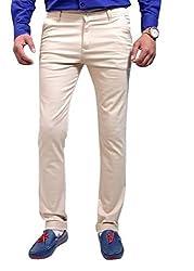 Raj Creation Men's Trouser (Raj Creation-1_Cream_36)