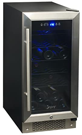 SPT Under Counter Wine/Beverage Cooler, 32 Bottles