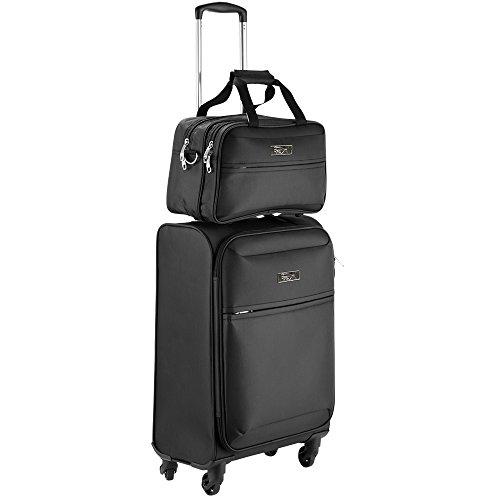 cabin-max-copenhagen-conjunto-de-equipaje-de-mano-50x40x20cm-negro