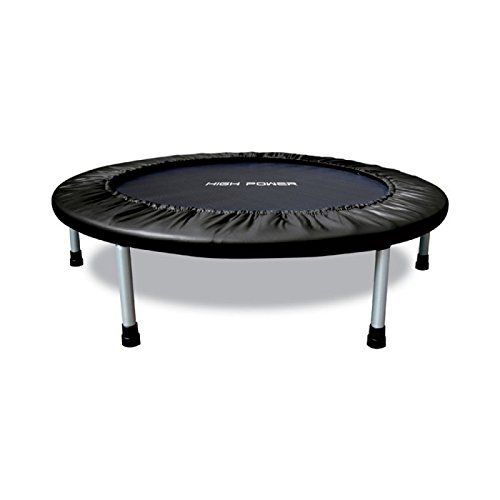 High Power HPMINITRAM122 Trampolino da Interno, Diametro 122 Cm, Nero