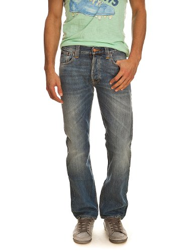 Jeans Average Joe organic vacation worn Nudie W36 L34 Men's
