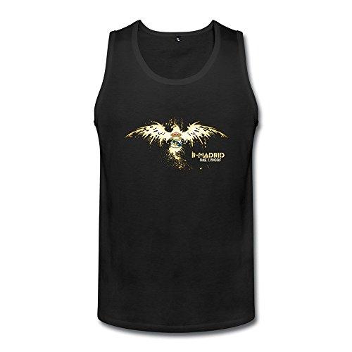 enhui-man-real-madrid-logo-ring-spun-cotton-tank-top-tshirt-l-black