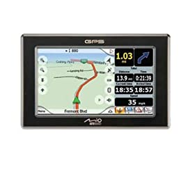 41pS4SEigmL. SL500 AA280  Mio C720t Portable Car Navigation System   $249 Shipped