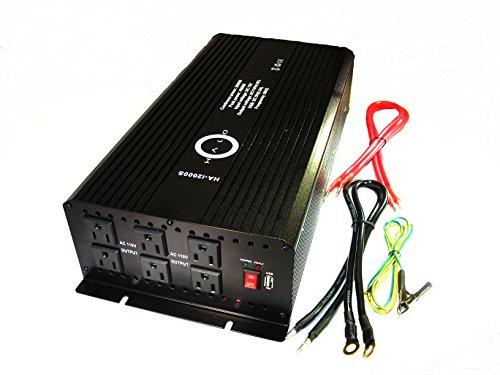 Halo Automotive Ha-I2000S Power Inverter, 2000-Watt
