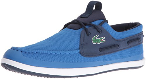 Lacoste Men's L.Andsailing 316 3 Spm Fashion Sneaker, Blue, 9 M US