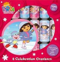 DORA THE EXPLORER 6 CELEBRATION CRACKERS [Toy] [Toy]