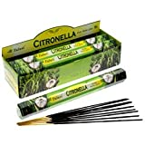 Tulasi Hex Incense Sticks (Citronella - 20 Sticks)