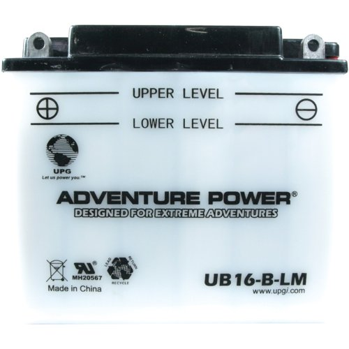 UPG 42544 Ub16-b-lm Conventional Power Sports Battery