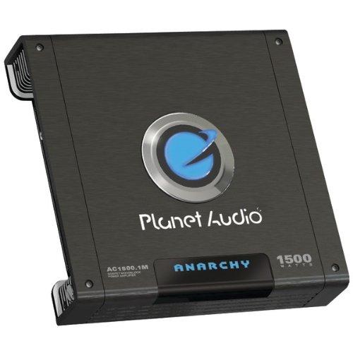 Planet Audio Ac1500.1M Anarchy Class Ab Monoblock Amp (1,500W Max; 700W X 1 @ 4_; 1,100W X 1 @ 2_)