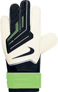 Nike Gk Jr Grip Goalkeeper Gloves Size 7 White/green/black