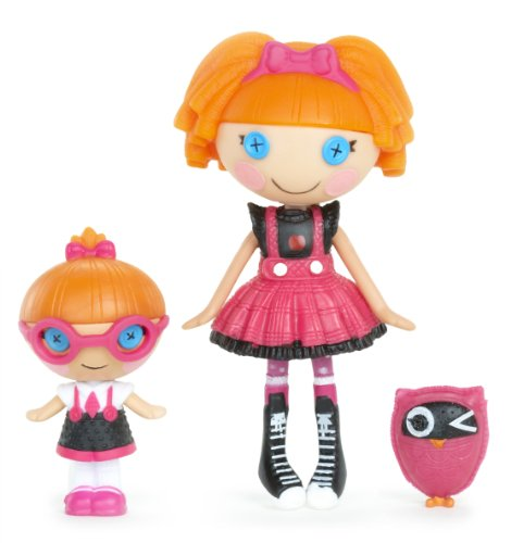 lalaloopsy littles  specs	reads a lot