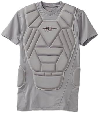 Easton Youth Torso Tection Shirt, Gray, Medium