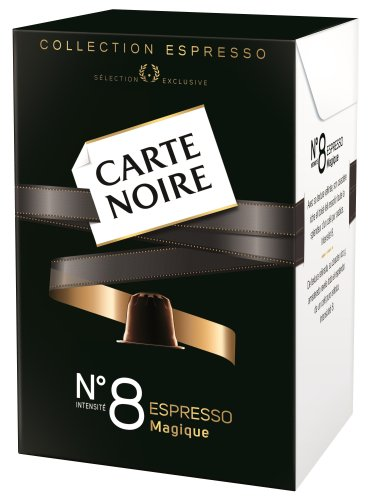 Find Nespresso Carte Noire No.8 MAGIQUE Espresso Coffee Capsules (10 Capsules) by Carte Noire