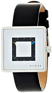 [ヒュッゲ]HYGGE 2089 SERIES Leather/White MSL2089BK(WH) 【正規輸入品】