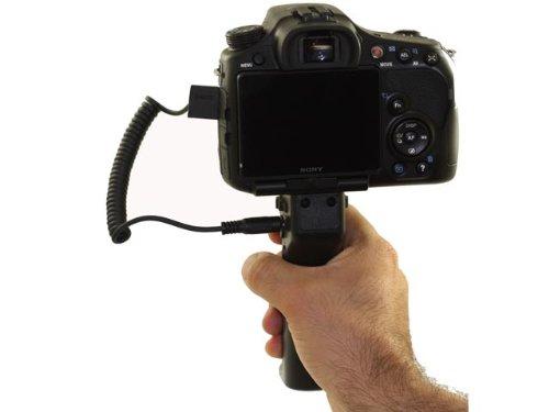 Jjc Professional Handheld Pistol Grip Tripod + Remote Control For Fujifilm Hs50Exr Camera