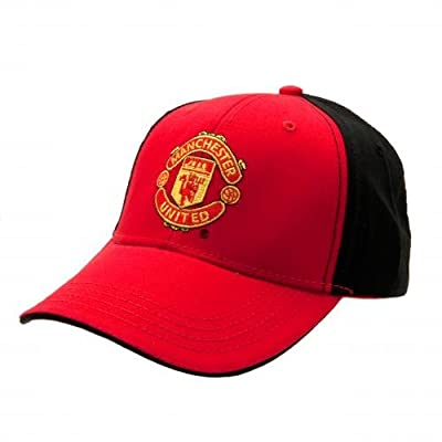 Manchester United FC - Authentic EPL Baseball Cap Black/Red