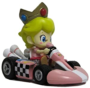 "Amazon.com : Nintendo Mario Kart Wii 3"" Pull-Back Action Toy Race Car"