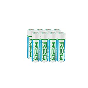 AA 8 Pack R2G Ready To Go Rechargeable 2150 mAh Batteries By Lenmar