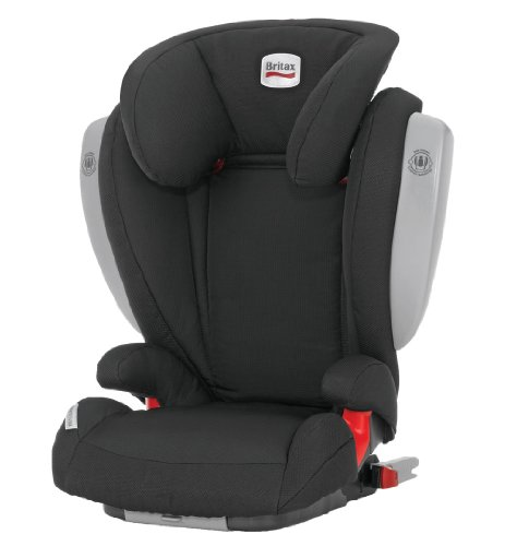 Britax Kidfix ISOFIT with Side Impact Cushion Technology Group 2-3 Booster Seat (Max/Black)