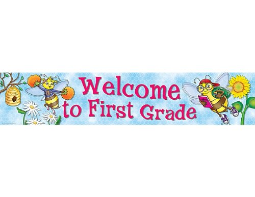 Teacher Created Resources Welcome to 1st Grd Banner, Multi Color (4571) - 1