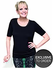 Twiggy for M&S Woman Scoop Neck T-Shirt
